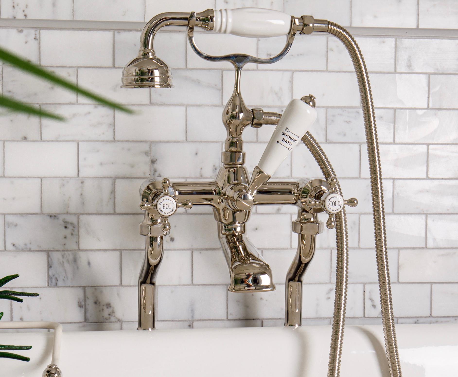 bath taps bath filler bath mixer nickel faucets shower