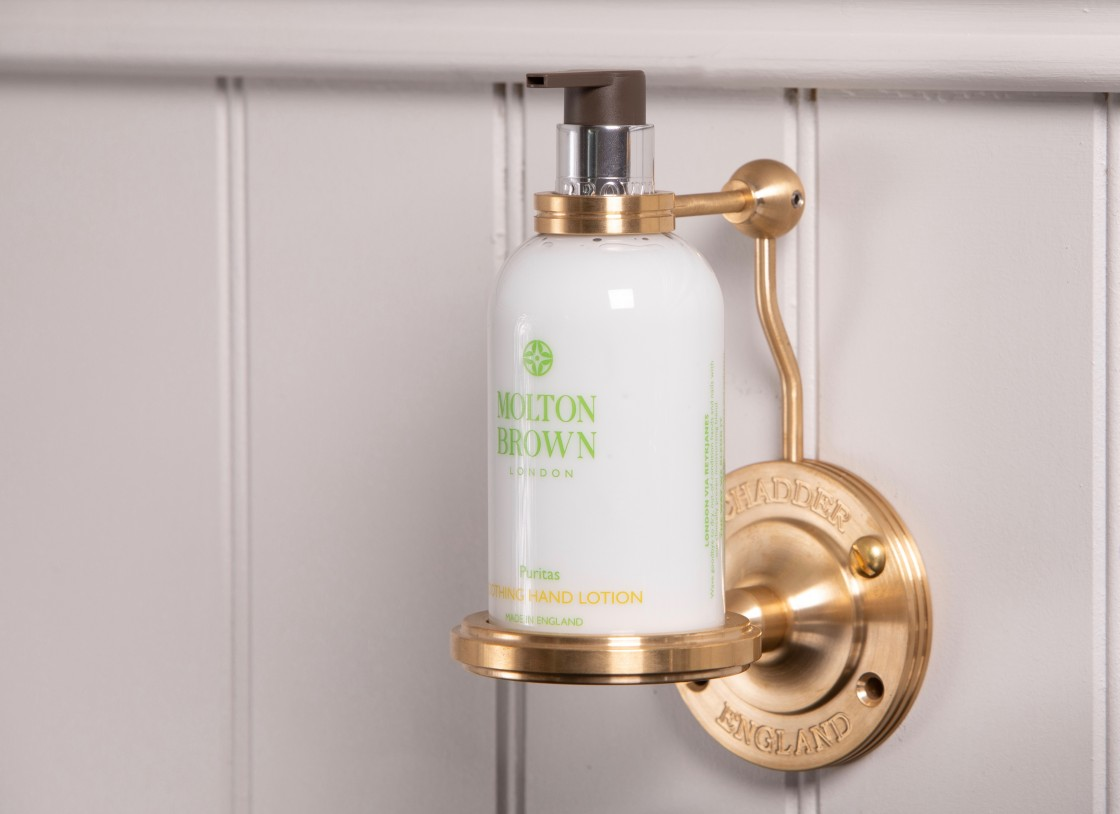 bathroom soap holder molton brown penhaligons brassware