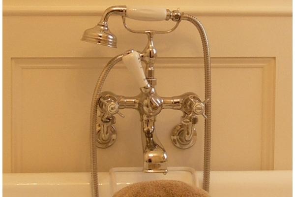 Chadder BSM 100 Wall Bath Shower Mixer, Nickel Finish, No Back Plate.