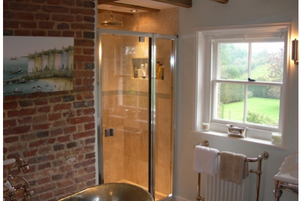 Pivot Shower <br /> Doors