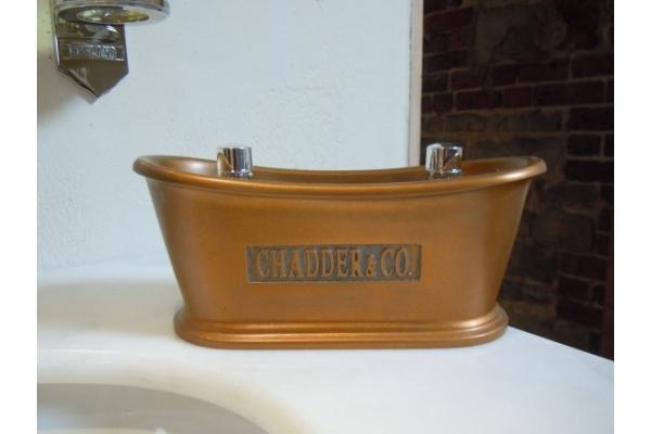 Small Bath in a Bronze Finish