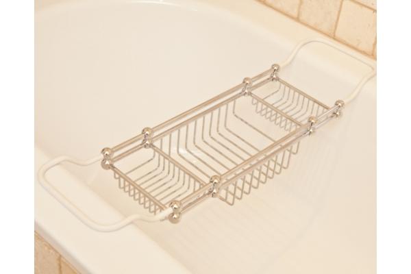 R18 Royal Adjustable Bath Rack, Chrome Finish