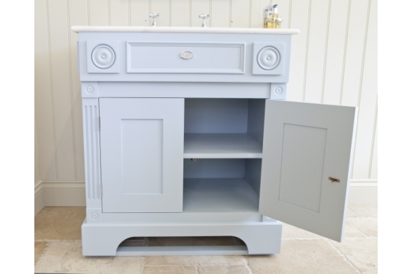 Windsor Cabinet with Marble Basin.