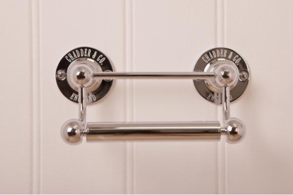 R1 Toilet Roll Holder Chrome