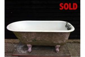 Rare Small Single ended bath.