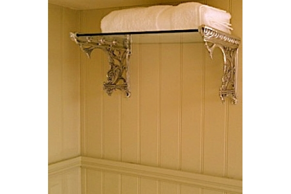 CHADDER A9 Sussex Towel Rail, with Glass