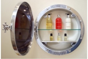 Porthole Surface-Mounted Cabinet