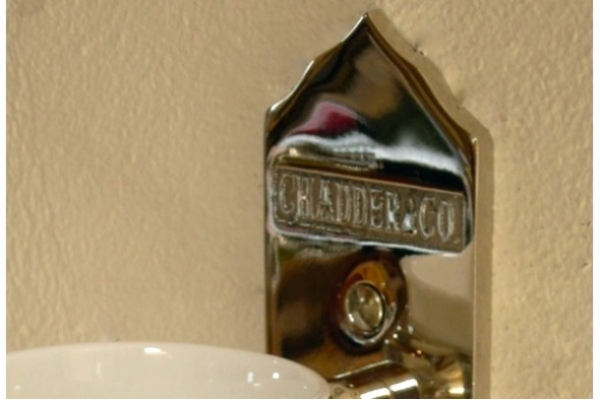 CHADDER Cup Holder, Nickle finish