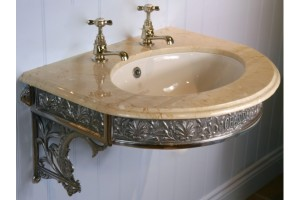 Sussex Curved Marble Basin