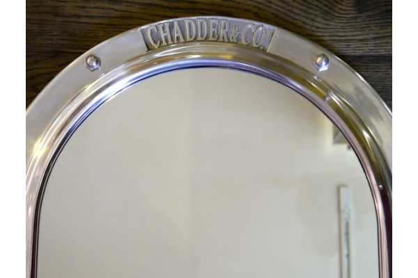 Britannia Porthole Mirror. Luxury Porthole mirror.
