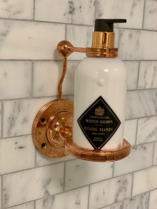 B6 Lockable Soap Bottle Holder