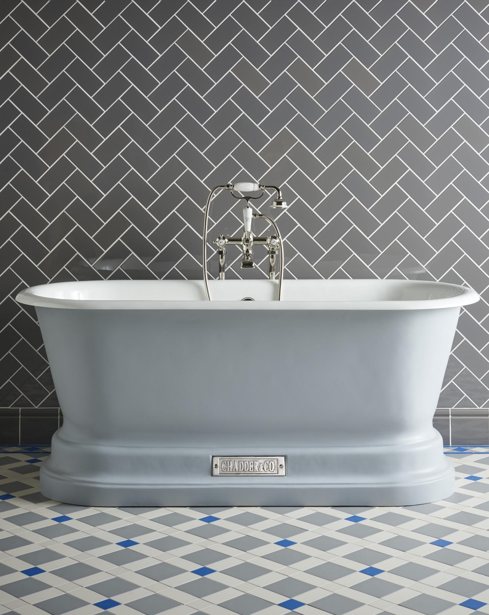 chadder bath tub luxury bath blue bath