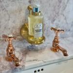 lockable soap bottle holder bathroom accessory