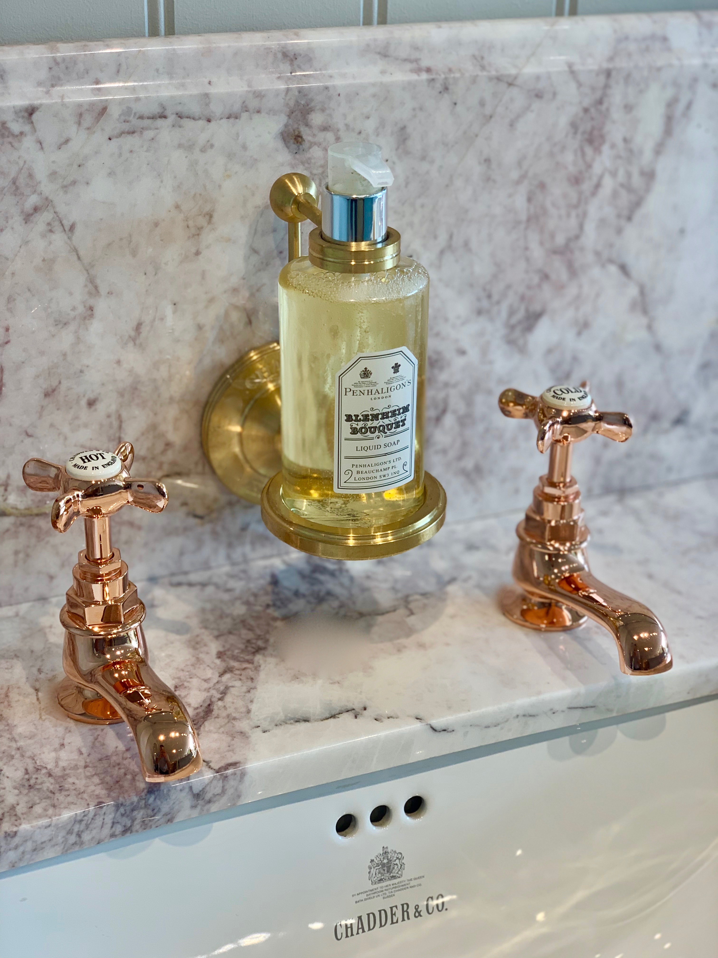 lockable soap bottle holder bathroom accessory