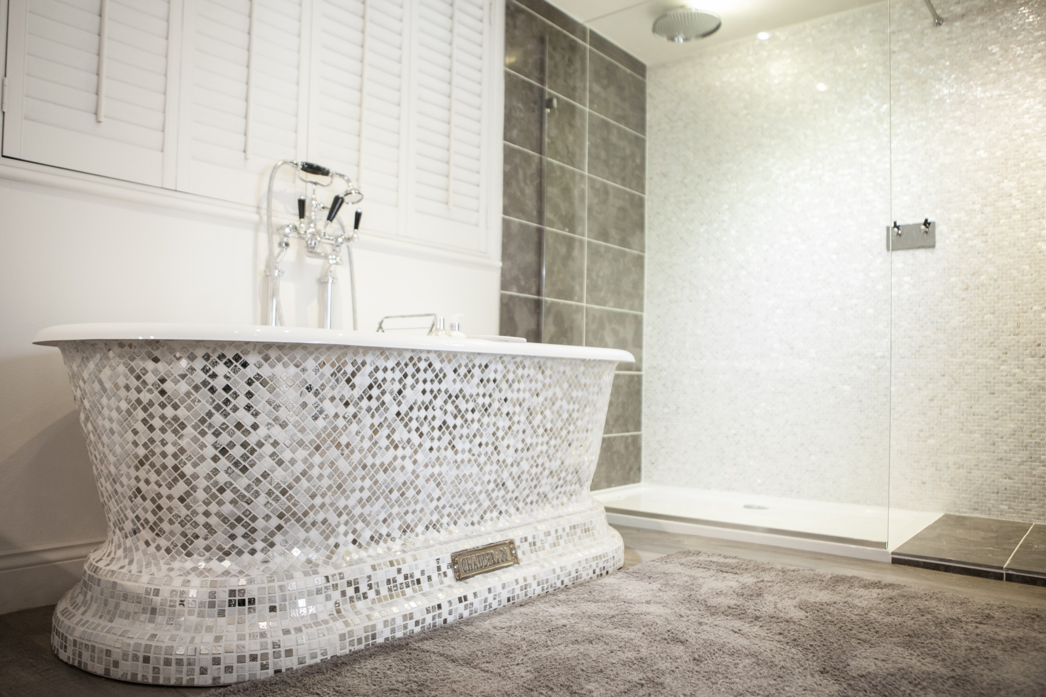 Sea Glass Bathroom Accessories