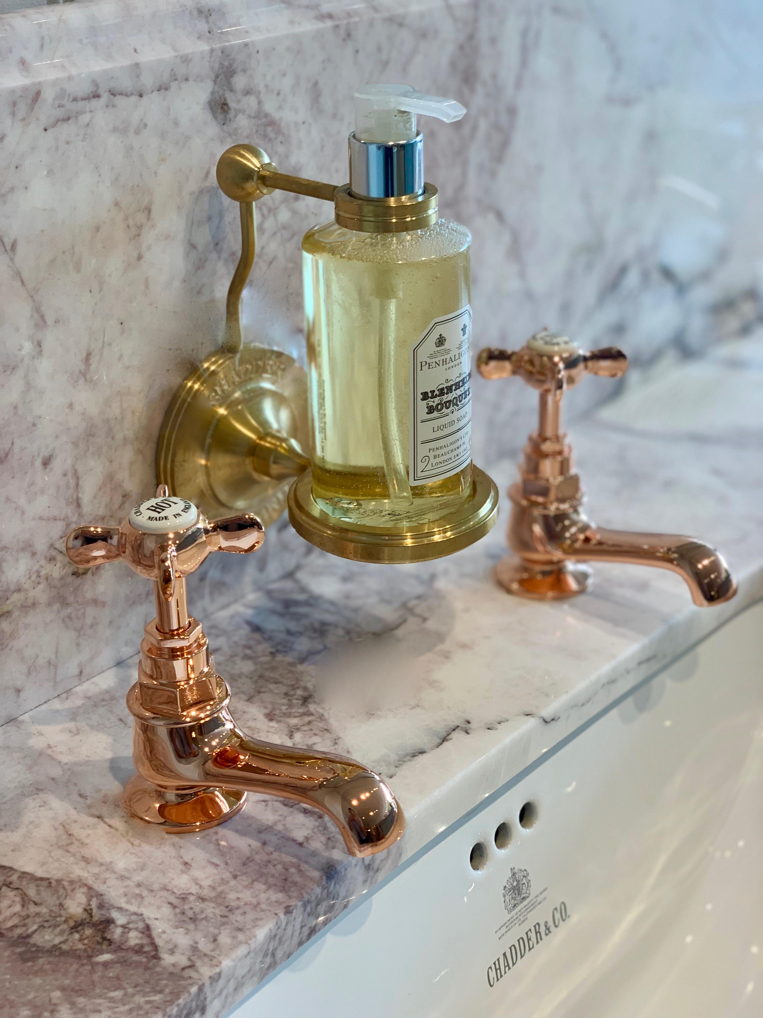 Brass Shower Screen