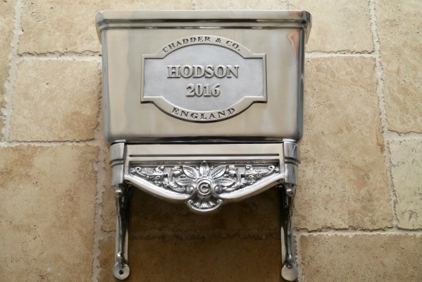 bespoke toilet cistern polished metal finish industrial style