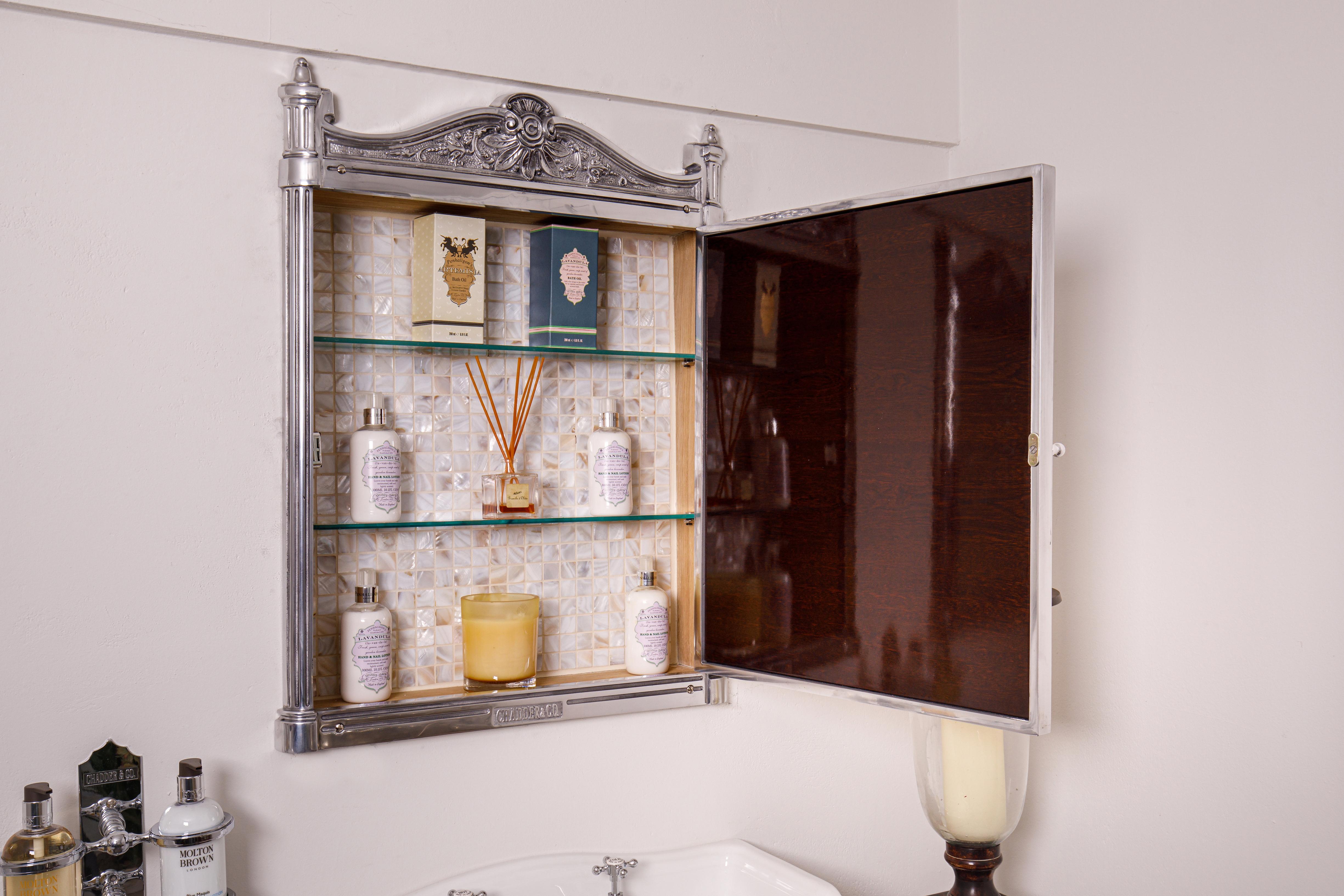 victorian bathroom mirrior cabinet vanity