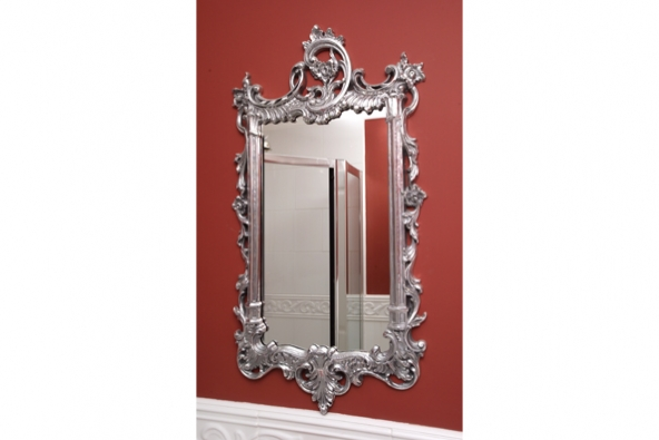 Sussex mirror finishes in polished metal.