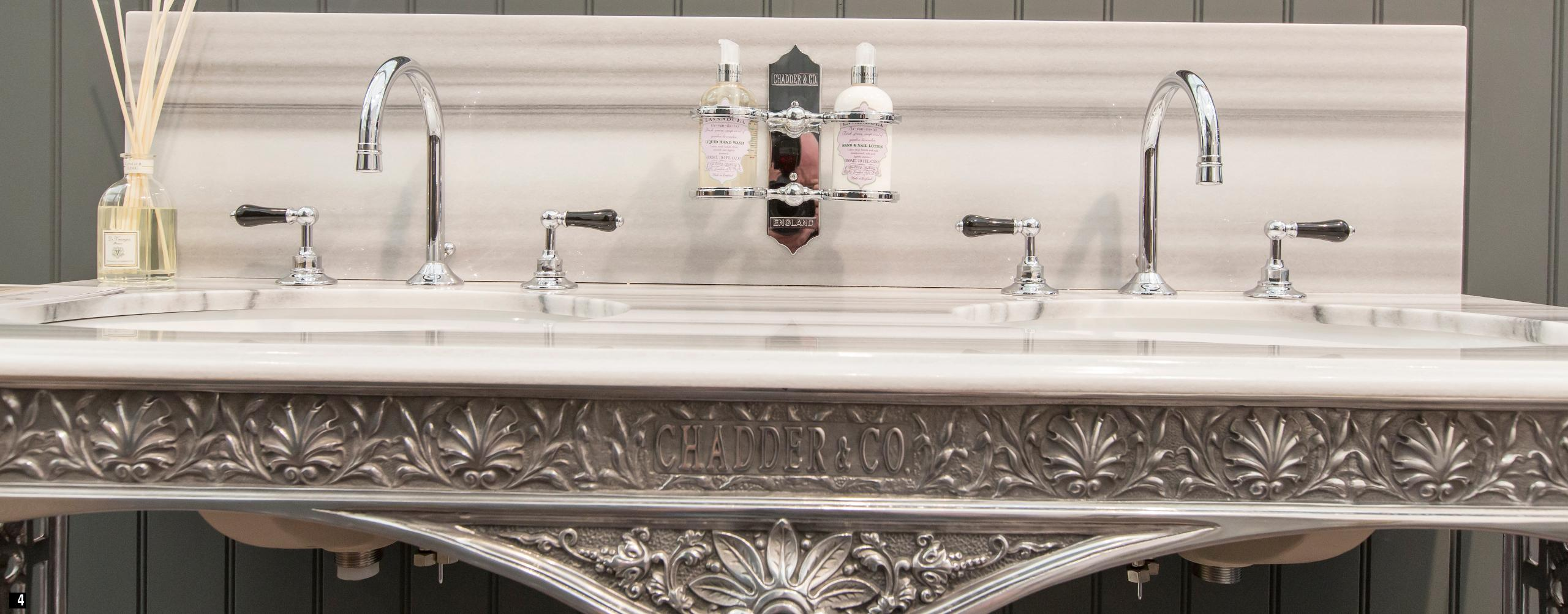 chadder luxury his and hers marble top basins