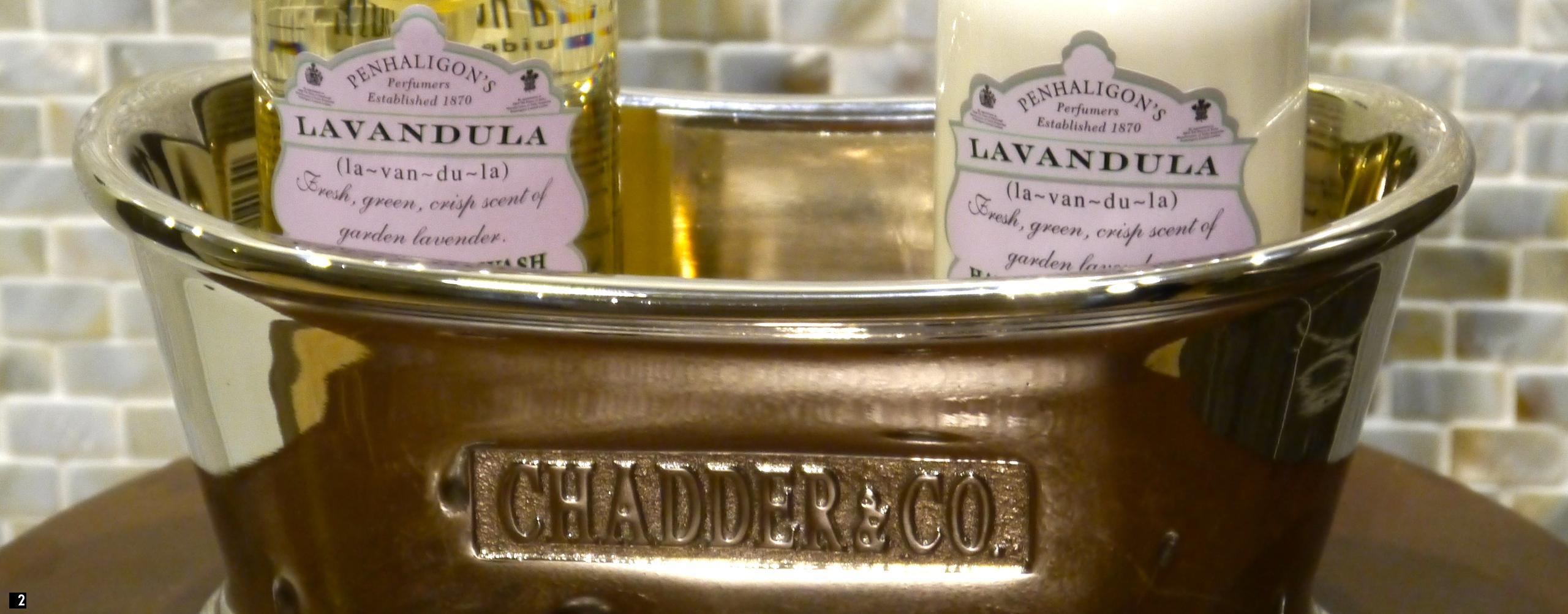 Chadder Royal Accessories, Small polished bath