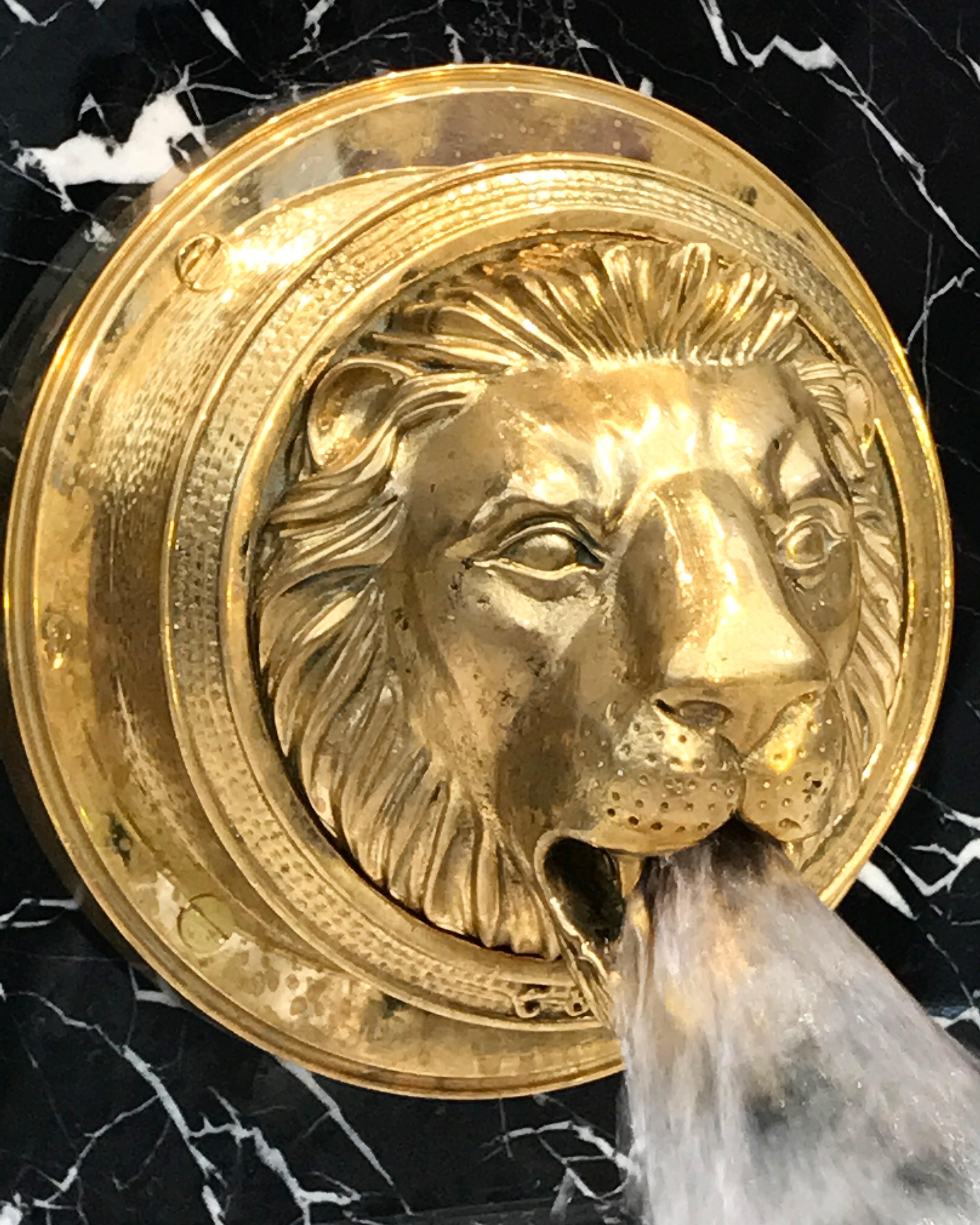 Lion Bath Basin Filler Chadder Amp Co