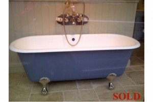 Antique bath French Double Ended