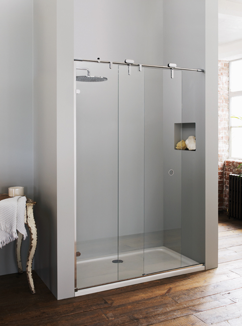 Sussex Hove Sliding Shower Door.