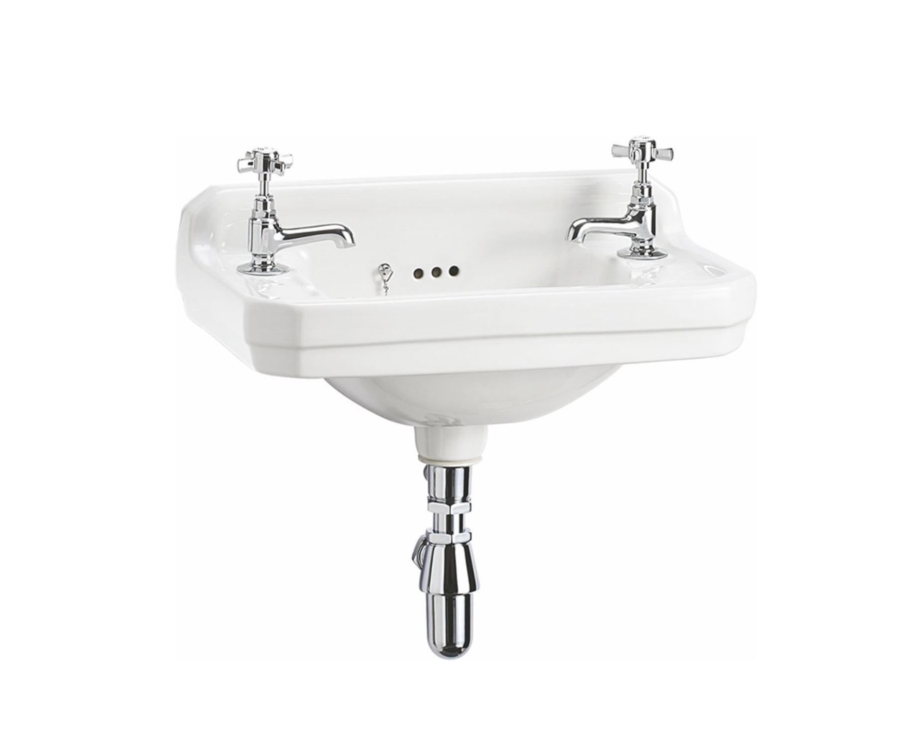 cloakroom small bathroom basin with chrome taps