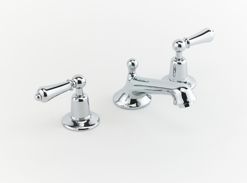 basin mixer chrome tap luxury faucet chadder three hole tap leaver