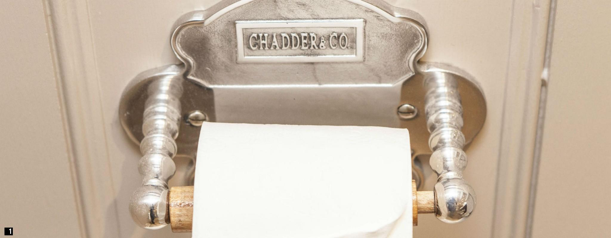 Chadder Vintage Style Toilet Roll Holder , Victorian Trraditional Toilet Roll Holder