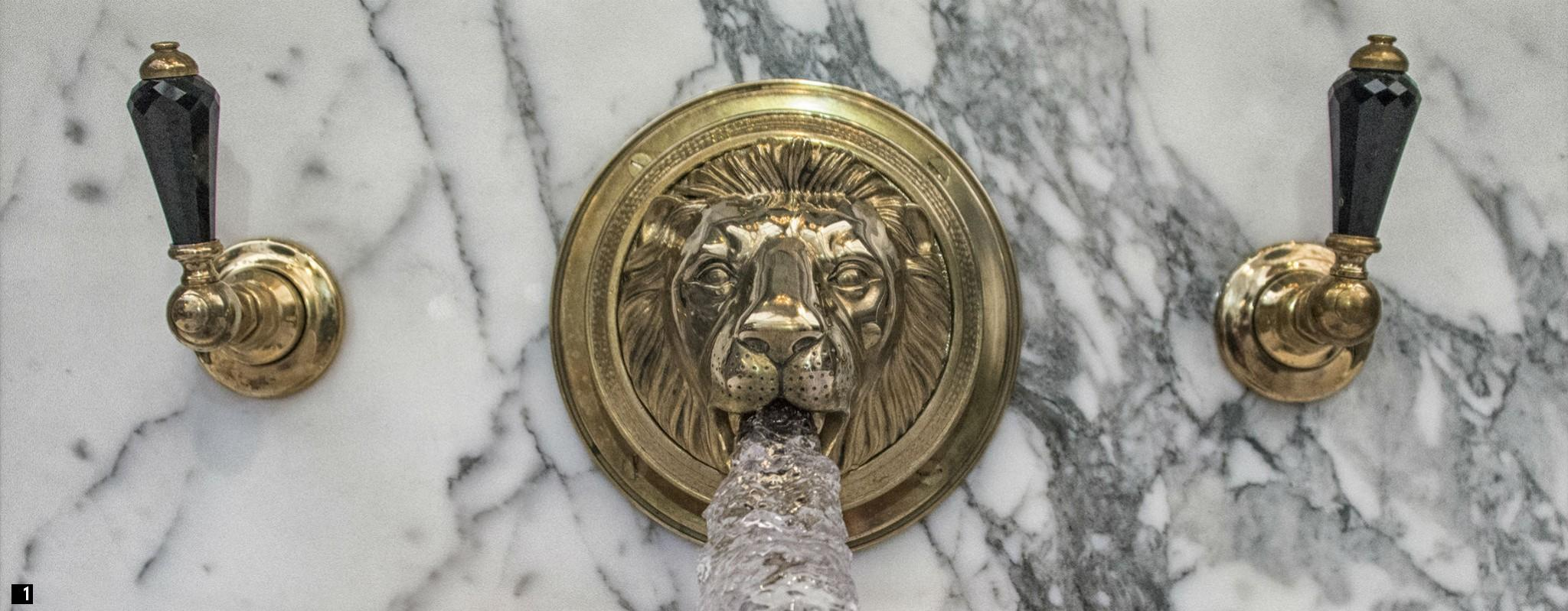 Colorful Old Taps Crest - Bathroom and Shower Ideas - purosion.com
