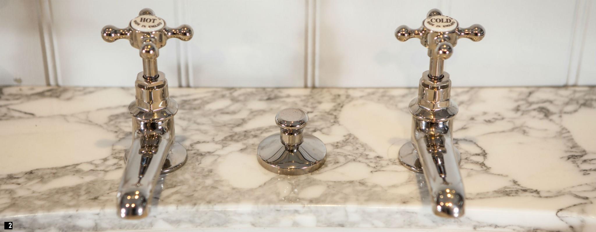 Chadder Nickel Vintage luxury Taps and Fittings Victorian Luxury Bathrooms