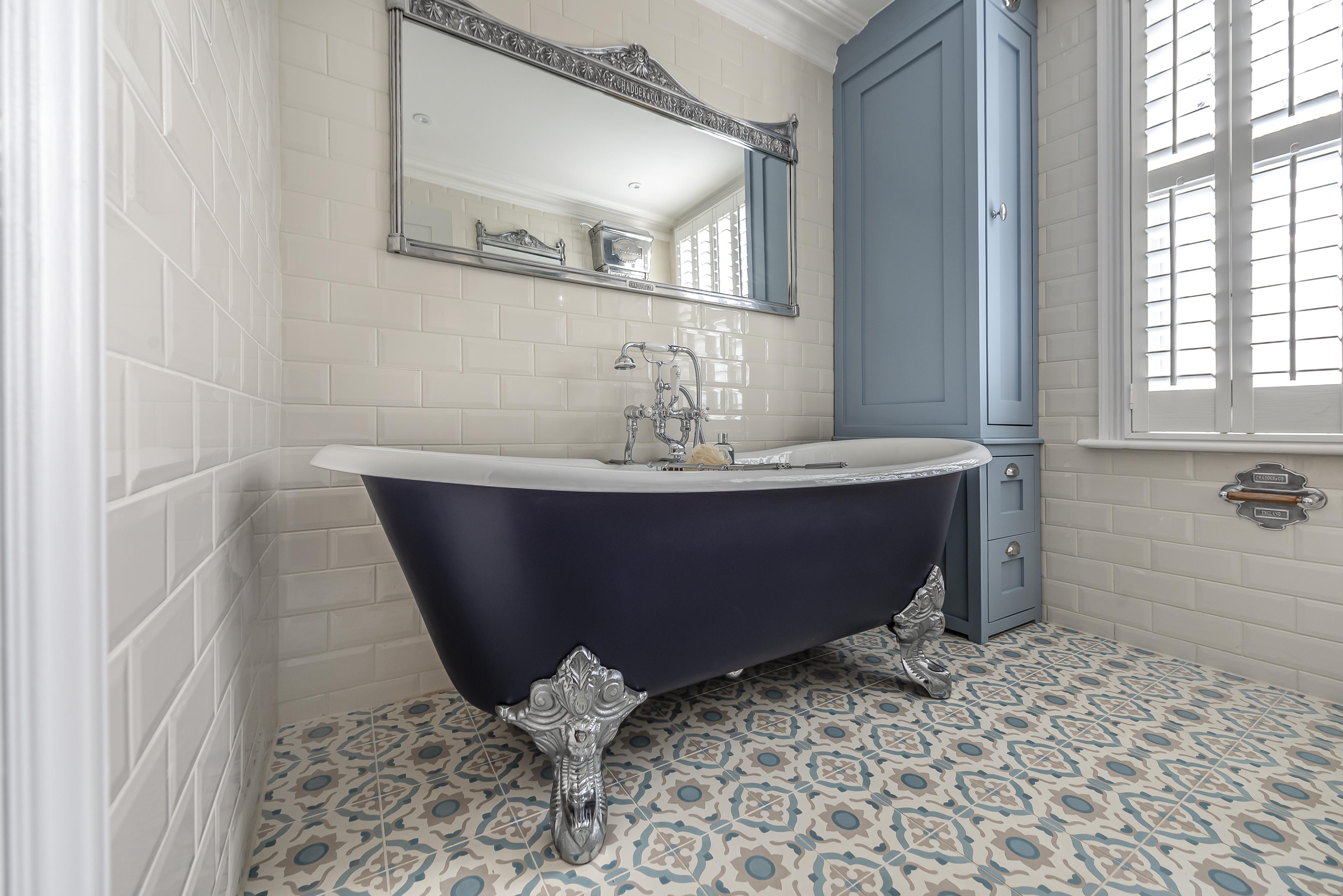 bathroom mirror traditional bathroom freestanding bath