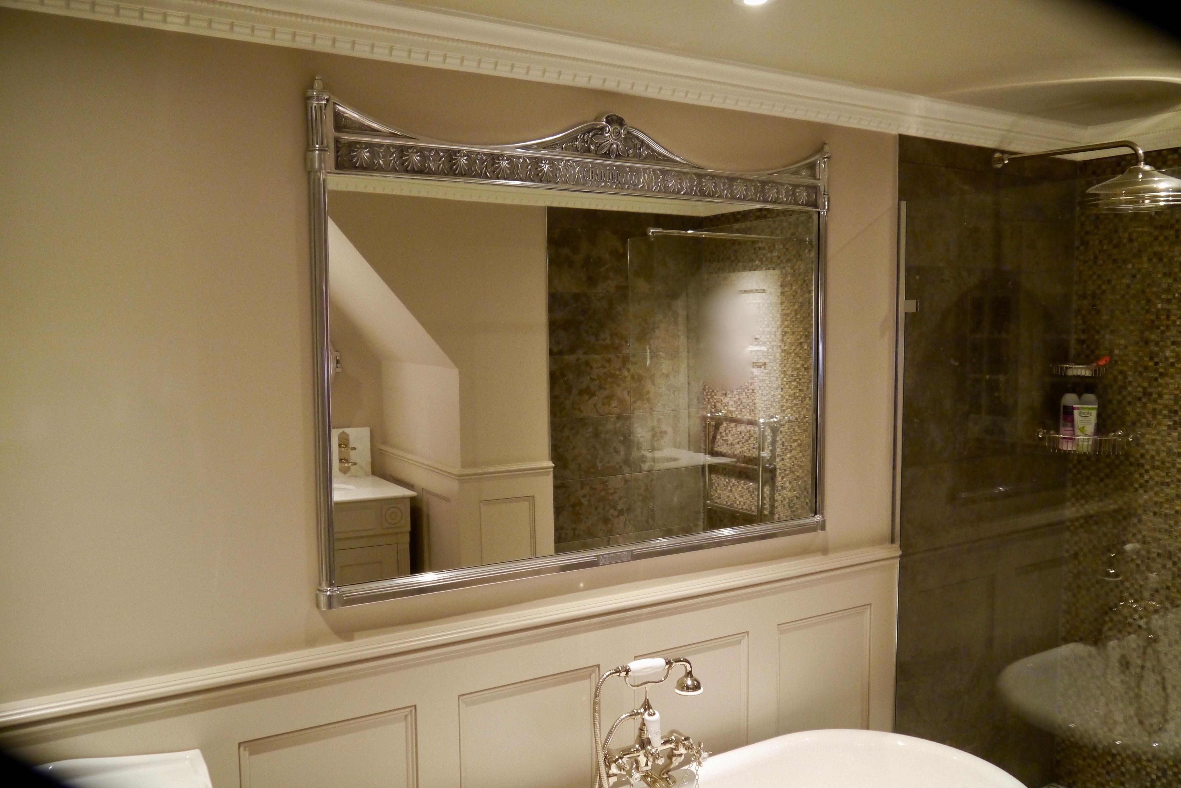 bathroom mirror traditional mirror design