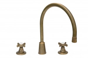 Brighton Three Hole Kitchen Mixer