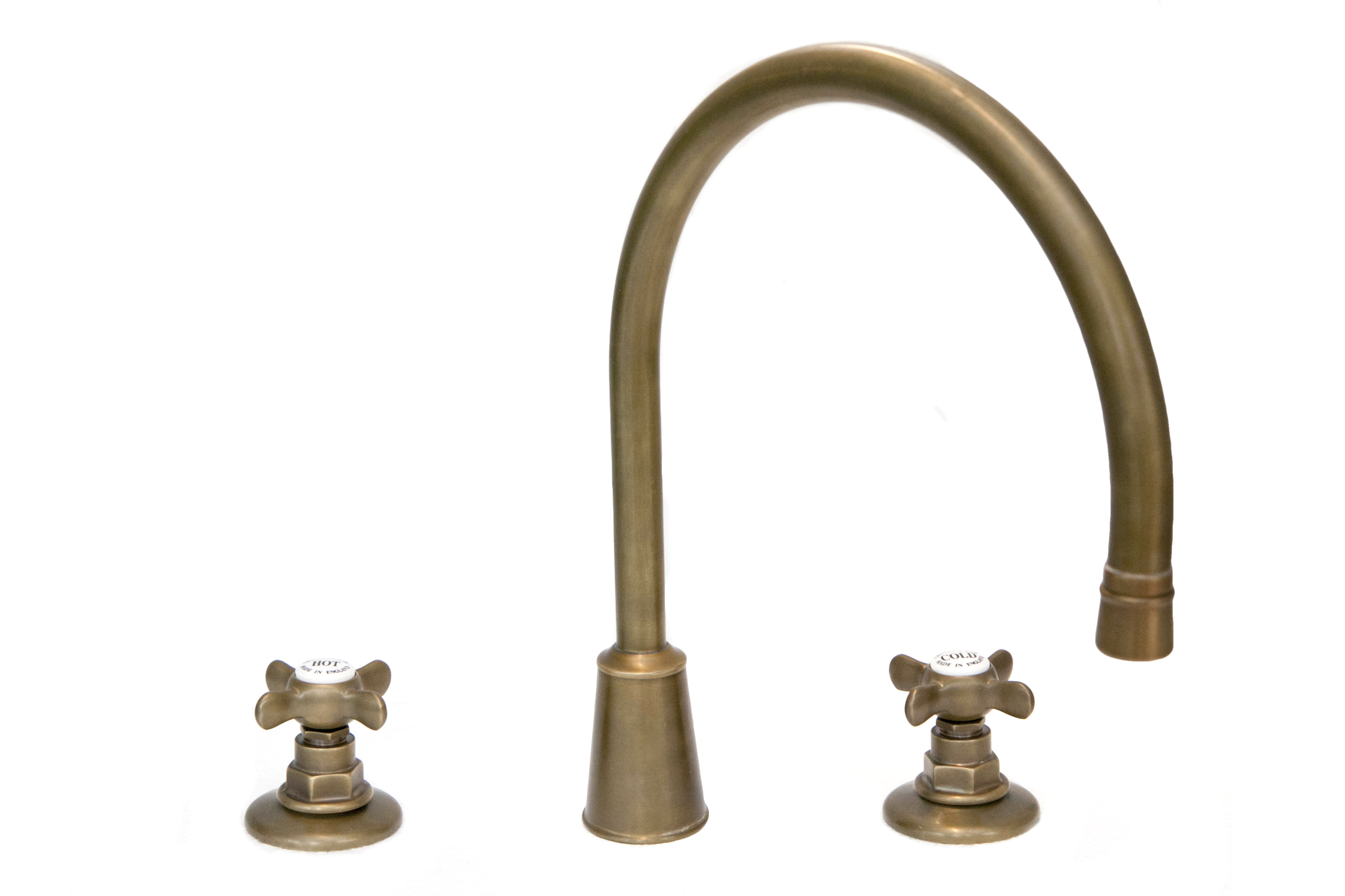 basin tap antique style faucet weathered brass kitchen mixer