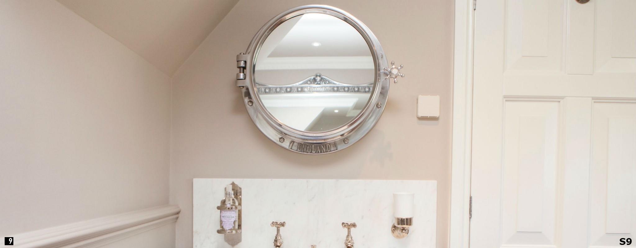 Porthole Mirror Cabinet , Porthole , Porthole Mirror , Porthole Mirror in Bathroom , Bathroom Porthole