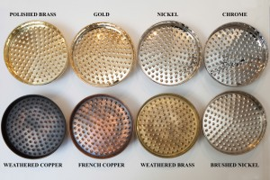 Plating Finishes available at Chadder & Co.