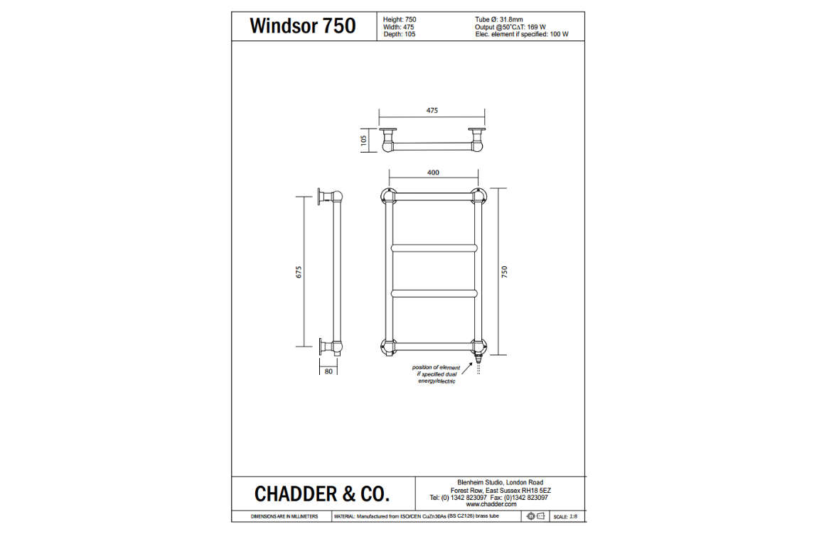 WINDSOR 750
