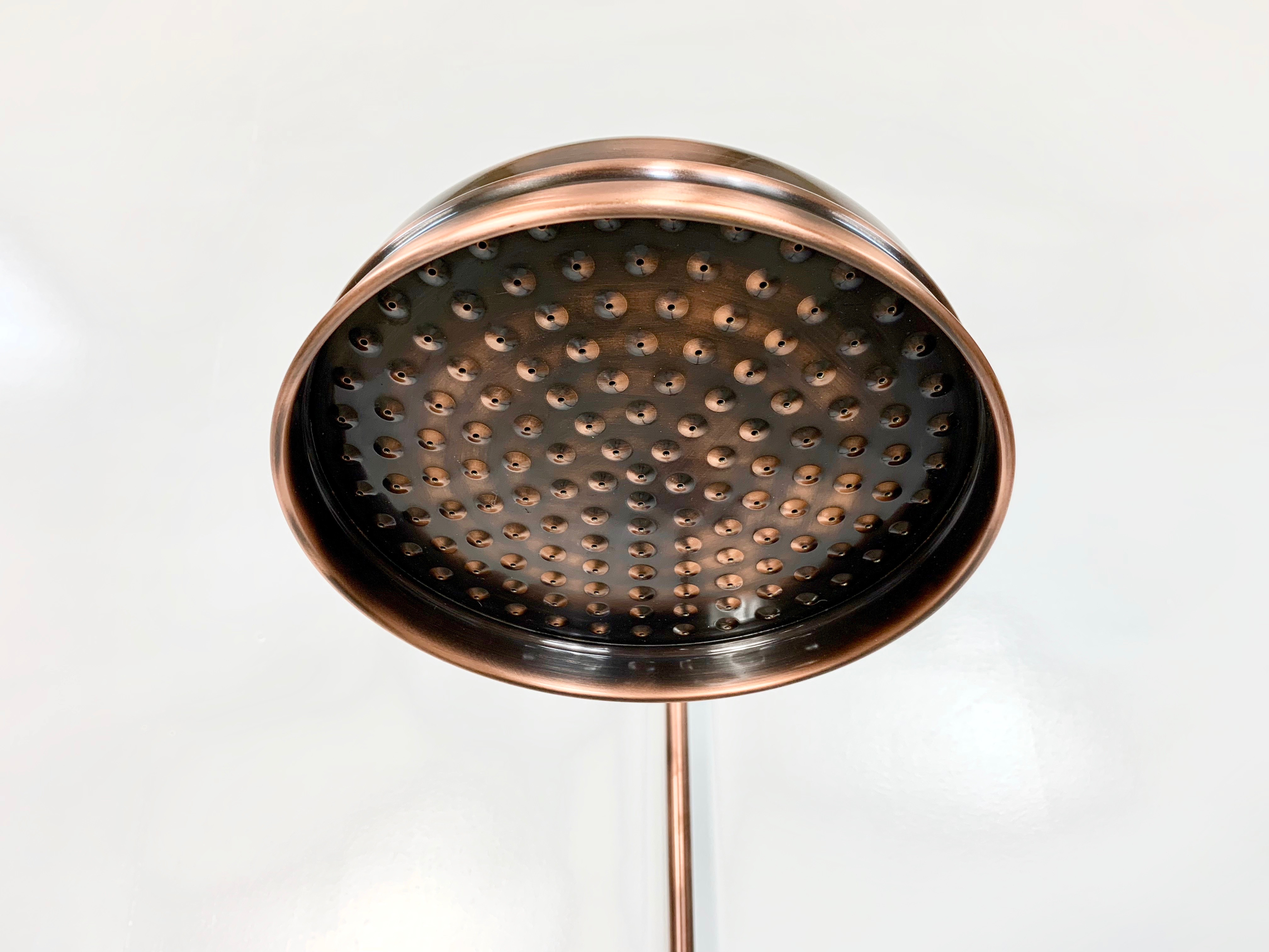 8 inch Rose in Aged Copper lacquered Finish
