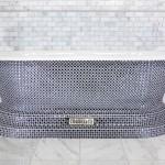 crystal bath tub mosaic bath luxury bathroom deisgn