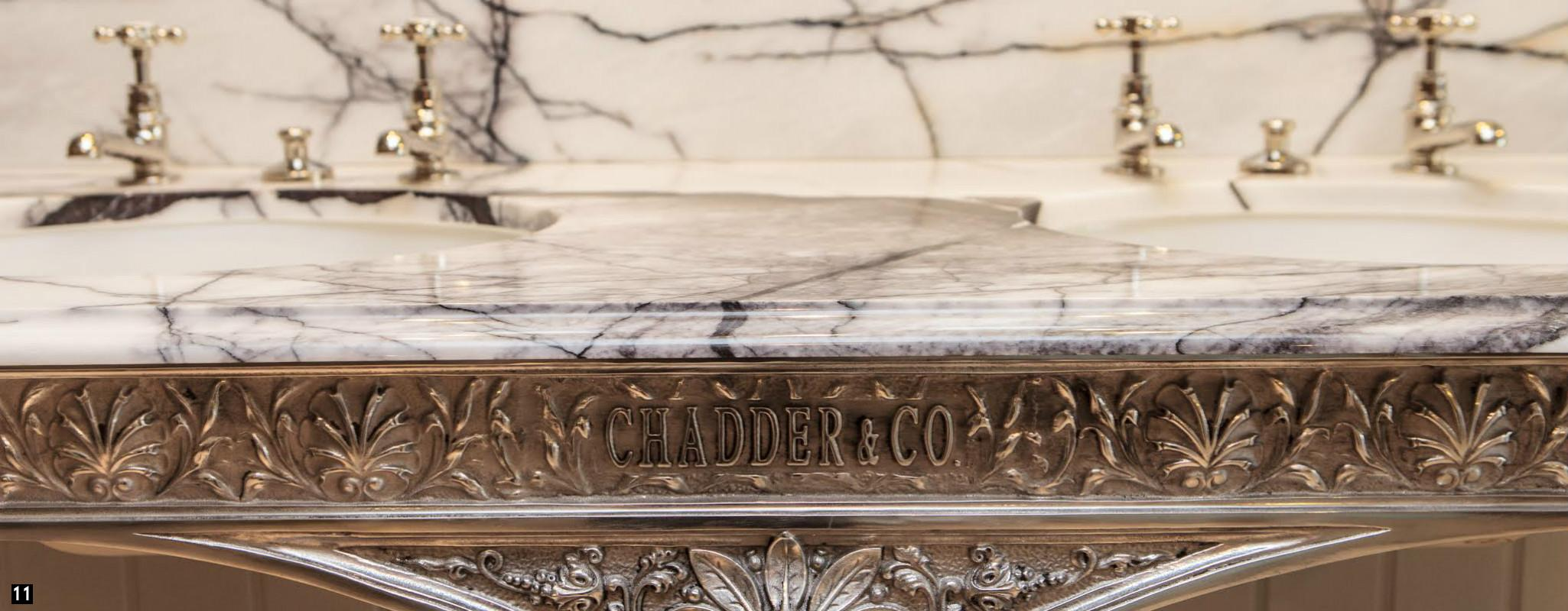 Bespoke Marble Basins , Nickel Taps and Fittings , Bespoke Cisterns, Vintage Bespoke Bathrooms
