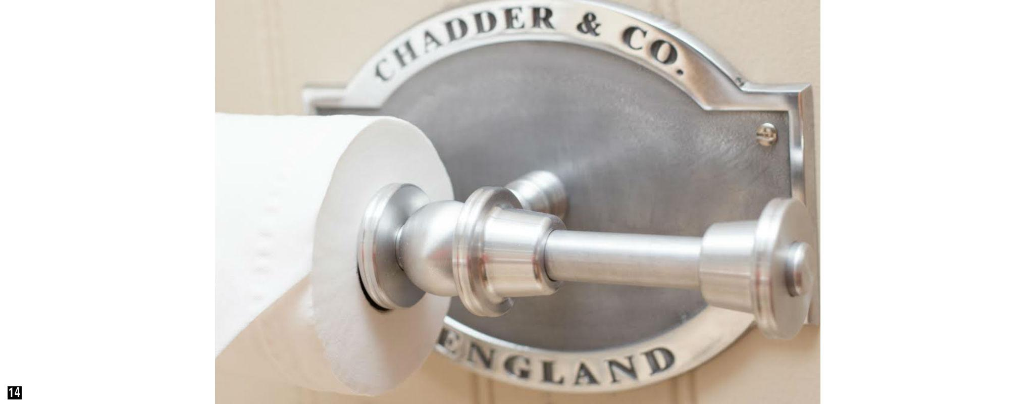Traditional Bespoke Toilet Roll Holder, Lockable Hotel Toilet Roll Holder, Vintage Toilet Holder