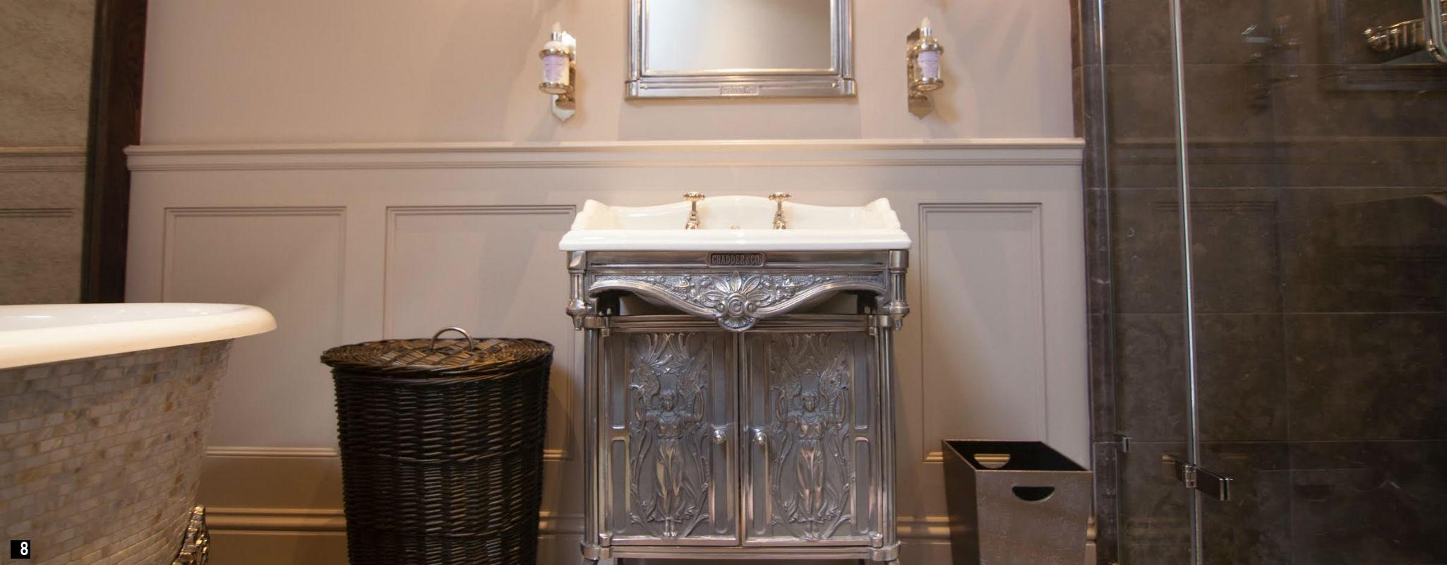 Traditional Cloakroom Accessories , Molton Brown Soap Holder , Penhaligons Soap Holder  Cloakroom Basin