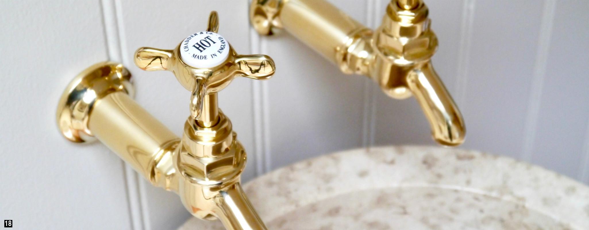 Brass bathroom fittings - Brass Taps Brass Kitchen Taps Brass Bib Taps Vintage Brass Bath Taps